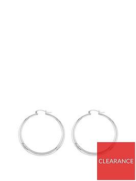 tommy-hilfiger-zendaya-silver-plated-hoop-earring