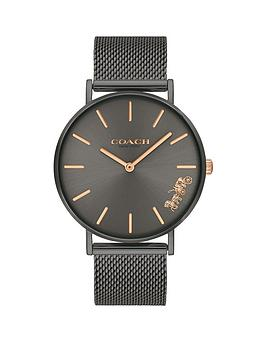 coach-coach-black-sunray-and-rose-gold-detail-dial-black-stainless-steel-mesh-strap-ladies-watch