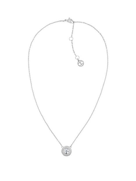 tommy-hilfiger-classic-silver-plated-cubic-zirconia-pendant-ladies-necklace