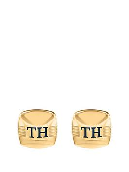 tommy-hilfiger-tommy-hilfiger-classic-gold-tone-stainless-steel-logo-cufflinks