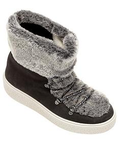 victoria-faux-fur-ankle-boots-grey