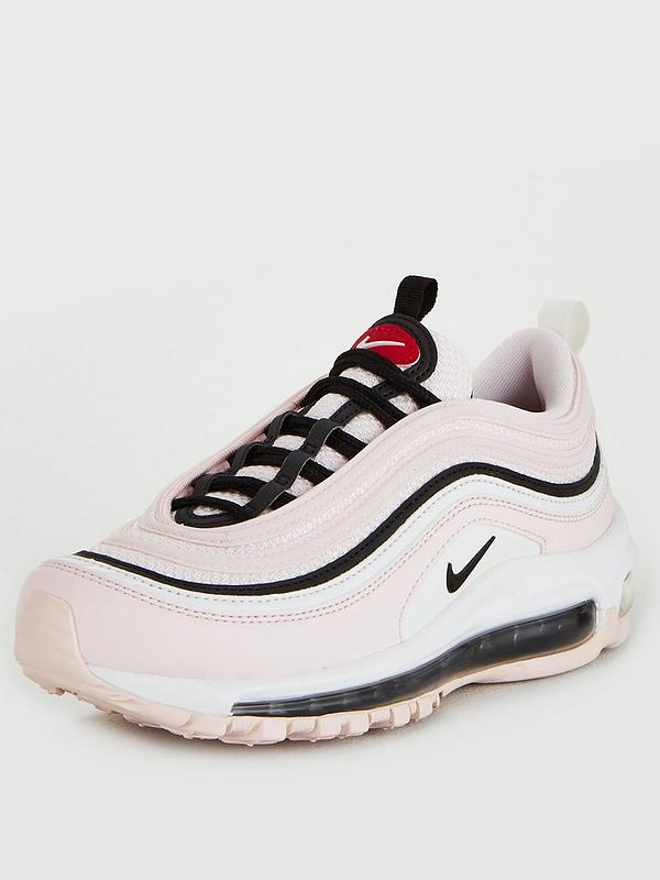 nuova stagione donna enorme sconto Nike Air Max 97 - Pink/Black/White | very.co.uk