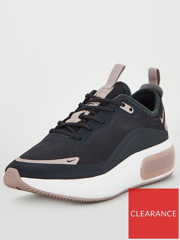 seleccione para oficial diversificado en envases nuevo estilo y lujo Nike Air Max Dia - Black/White | very.co.uk
