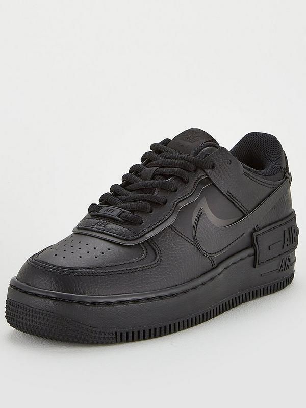 Nike Af1 Shadow Black Very Co Uk The nike air force 1 shadow has arrived in another new color. af1 shadow black