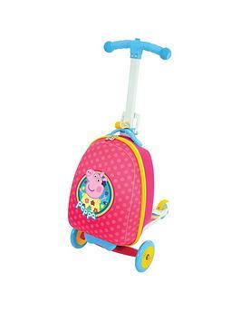 Peppa Pig Scootin' Suitcase
