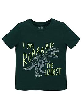 v-by-very-boys-short-sleeve-roar-the-loudest-t-shirt-green