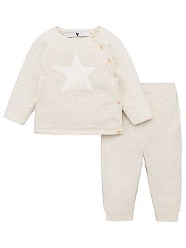 v-by-very-baby-unisex-2-piece-star-top-and-bottoms-set-oatmeal