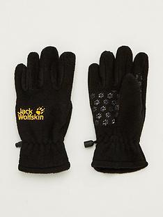 jack-wolfskin-kids-fleece-gloves-black