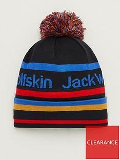 jack-wolfskin-kids-pride-pom-pom-beanie-hat-navy