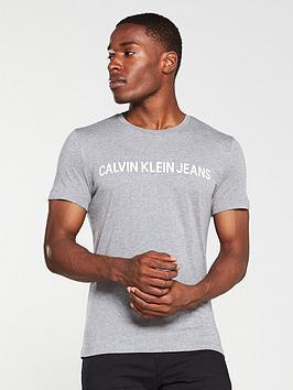 calvin-klein-jeans-institutional-logo-slim-t-shirt-grey