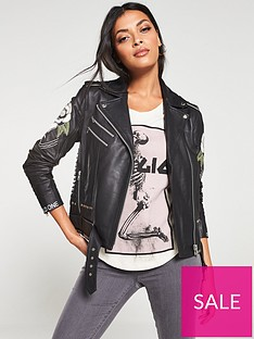 religion-blush-leather-biker-jacket-black