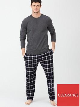 v-by-very-grandad-top-amp-check-bottoms-greyblack