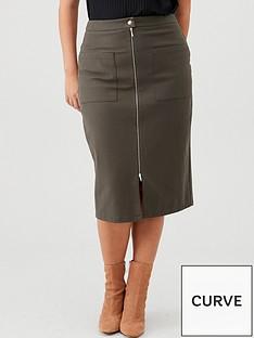 v-by-very-curve-zip-through-pencil-skirt-khaki