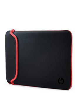 hp-14-inch-black-red-chroma-reversible-laptop-sleeve
