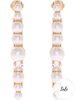 anton-heunis-pearl-cluster-drop-earrings-gold
