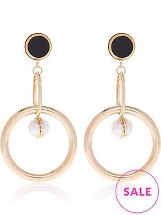 anton-heunis-omega-clasp-link-drop-earrings-gold