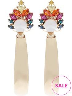 anton-heunis-omega-clasp-crystal-cluster-hoop-earrings-gold