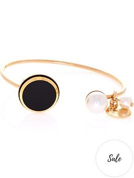 anton-heunis-disc-and-pearl-cuff-bracelet-blackgold