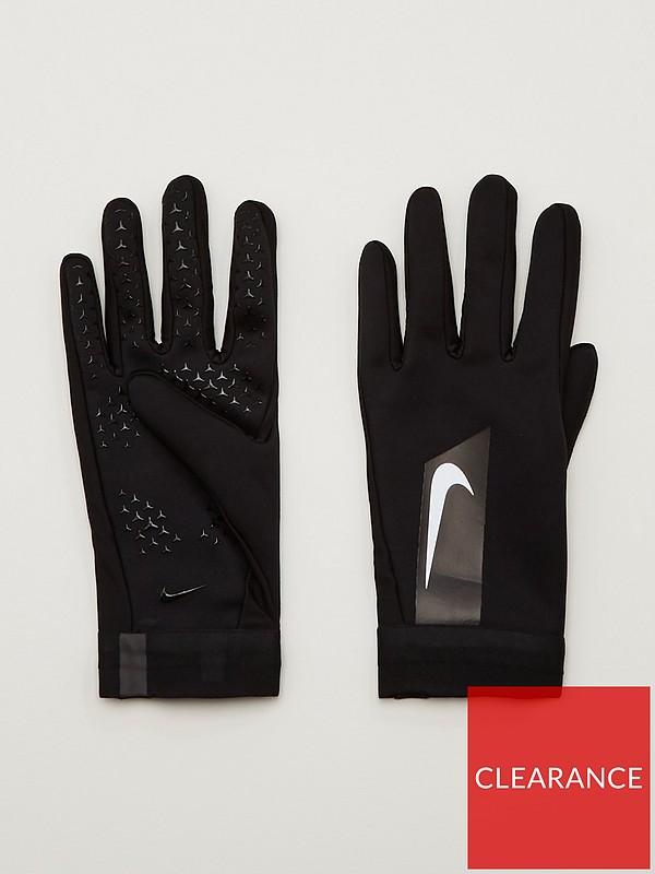 ella es Dando es bonito  Nike Academy Hyper Warm Gloves - Black | very.co.uk