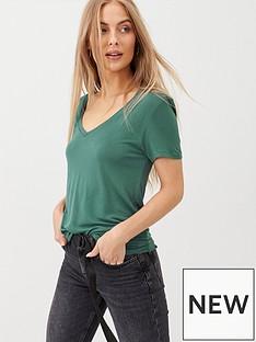 v-by-very-the-essential-v-neck-t-shirt-dark-green