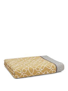 bianca-cottonsoft-cassia-border-bath-sheet