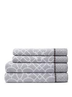 bianca-cottonsoft-cassia-border-4-piece-100-cotton-towel-bale