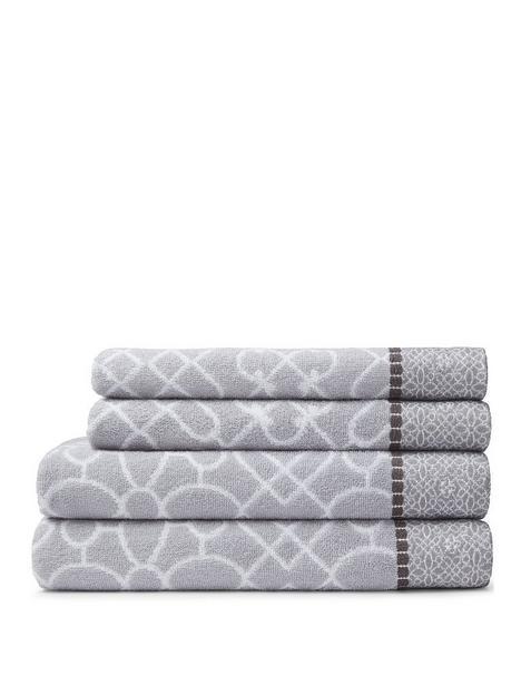 bianca-fine-linens-cassia-border-4-piece-100-cotton-towel-bale