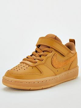 nike-court-borough-low-2-childrens-trainers-sand