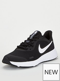 nike-revolution-5-junior-trainers-blackwhite
