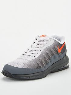 nike-air-max-invigor-childrens-trainers-greyred