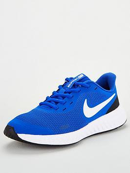 nike-revolution-5-junior-trainers-bluewhite