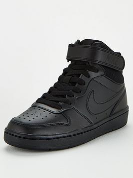 nike-court-borough-mid-2-junior-trainers-black