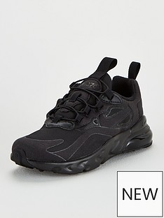 nike-air-max-270-react-childrensnbsptrainer-black