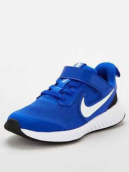 nike-revolution-5-childrens-trainers-bluewhite
