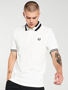 fred-perry-block-tipped-polo-shirt-snow-white