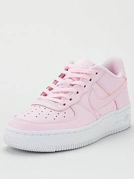 nike-air-force-1-junior-trainers-pink