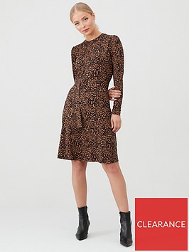 warehouse-wild-animal-dress-camel