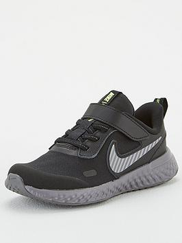 nike-nike-revolution-5-hi-viz-childrens-trainer