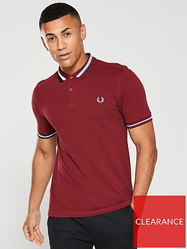 fred-perry-abstract-collar-pique-polo-shirt-dark-red