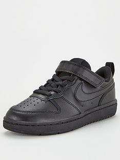 nike-court-borough-low-2-childrens-trainers-black
