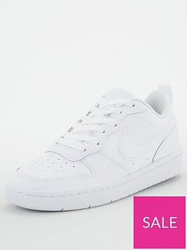nike-court-borough-low-2-junior-trainer-white
