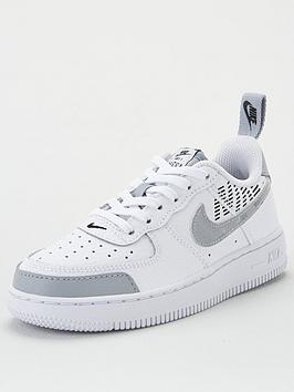 nike-force-1-lv8-2-childrens-trainers-whitegrey
