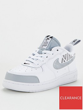 nike-force-1-lv8-2-toddler-trainers-whitegrey