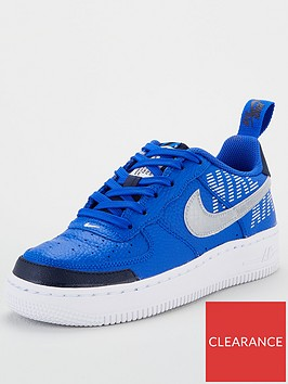 nike-air-force-1-lv8-2-junior-trainers-bluenavy