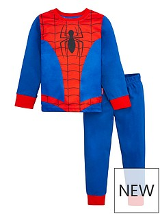 spiderman-boys-marvel-spiderman-dress-up-pyjamas-redblue