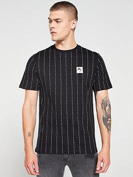 river-island-black-maison-riviera-stripe-slim-fit-t-shirt