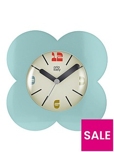 orla-kiely-house-flower-alarm-clock