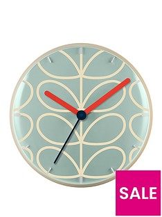 orla-kiely-house-linear-stem-wall-clock
