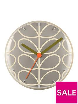 orla-kiely-house-linear-stem-wall-clock-light-grey