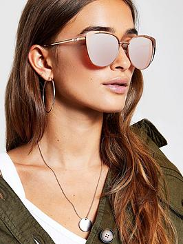 river-island-river-island-gold-tone-cat-eye-sunglasses-rose-gold